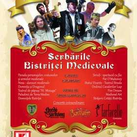 Concert Bucovina la Serbarile Bistritei medievale 2016