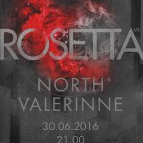 Concert Rosetta, North si Valerinne live in Club Control