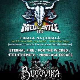 Finala nationala Wacken Metal Battle Romania transmisa in direct, pe internet
