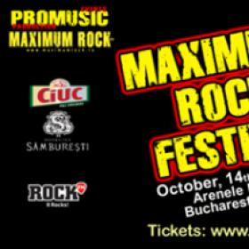 Oferta promotionala la abonamentele pentru Maximum Rock Festival