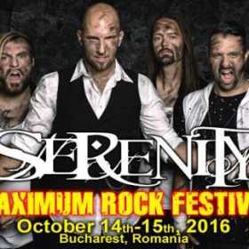 Trupele SERENITY, BEYOND THE EXISTENCE, LACHRYMOSE si VELIAN sunt confirmate la Maximum Rock Festival 2016