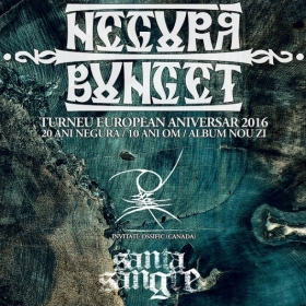 NEGURA BUNGET, Ossific, Santa Sangre (Metal Under Moonlight LXII, 28.09.2016)