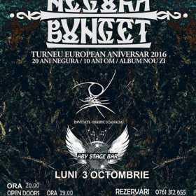Negura Bunget va concerta pentru prima data in Ramnicu Valcea pe 3 octombrie