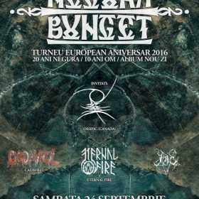 Negura Bunget lanseaza ultimul album 'ZI' printr-un concert in club Fabrica