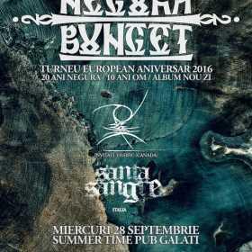 Programul si noutatile despre concertul Negura Bunget de miercuri
