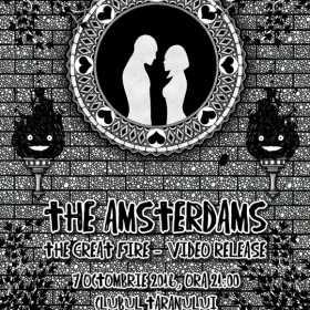 Trupa The Amsterdams lanseaza un nou videoclip la Clubul Taranului