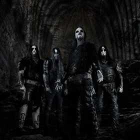Suedezii de la Dark Funeral in concert la Bucuresti
