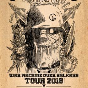 Trupa RoadkillSoda se alatura turneului european House of Broken Promises - War Machine Over Balkans Tour 2016