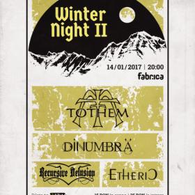 Concert Tothem, Dinumbra, Recursive Delusion, Etheric in Club Fabrica