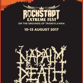 NAPALM DEATH confirmati la Rockstadt Extreme Fest 2017