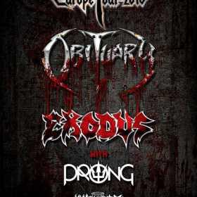 Program si reguli de acces pentru concertul Obituary, Exodus, Prong si King Parrot de la Arenele Romane