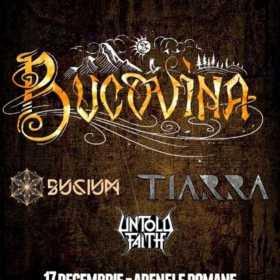 Trupa Bucovina concerteaza la Arenele Romane pe 17 decembrie