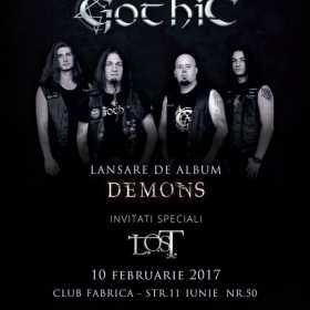 Trupa Gothic lanseaza noul album in februarie 2017