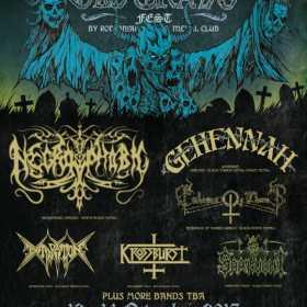 Embrace of Thorns, Gehennah si Extirpation au fost confirmate la Old Grave Fest 2017