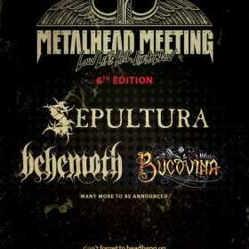 Trupa Sepultura este confirmata la Metalhead Meeting 2017