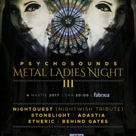 Teaser Psychosounds Metal Ladies Night III