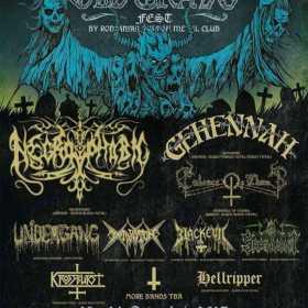 Trupele Undergan, Blackevil si Hellripper vor participa la Old Grave Fest VI