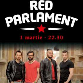 Red Parlament concerteaza la Hard Rock Cafe