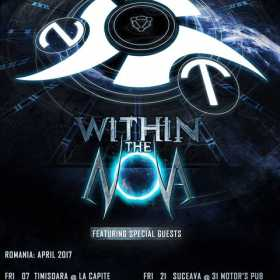 Trupa Within the Nova anunta prima parte a turneului Infinite Cycles 2017
