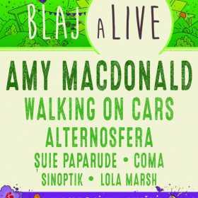 Amy Macdonald este cap de afis la Blaj aLive 2017