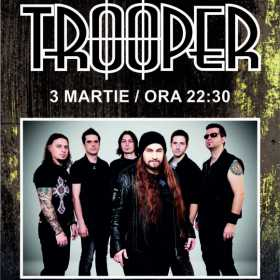 Concert TROOPER la Hard Rock Cafe, 3 martie 2017