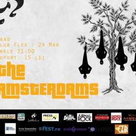 Concert The Amsterdams in Club Flex din Arad