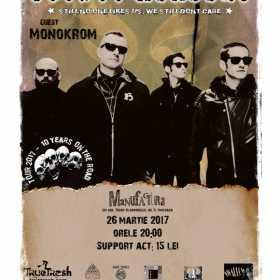 Concert punk cu Voodoo Healers si Monokrom la Timisoara