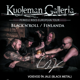 KUOLEMAN GALLERIA, Voievod In Jale (Metal Under Moonlight LXVIII, 10.04.2017)