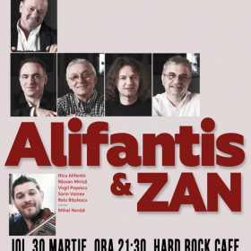 Nicu Alifantis & Zan concerteaza la Hard Rock Cafe pe 30 martie