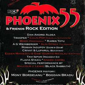 Primul episod din aniversarea Phoenix 55, pe 19 aprilie la Arenele Romane