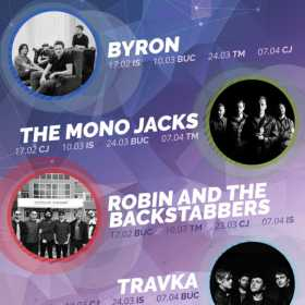 Turneul Overground Elements cu byron, The Mono Jacks, Travka si Robin and the Backstabbers continua