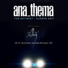 Anathema revine in Romania in cadrul ARTmania Bucharest Blast - info si bilete