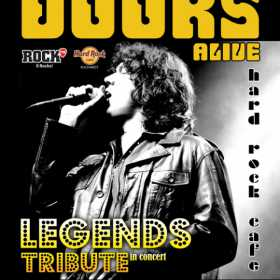 Cei de la The Doors Alive aduc hiturile lansate de Jim Morrison la Hard Rock Cafe