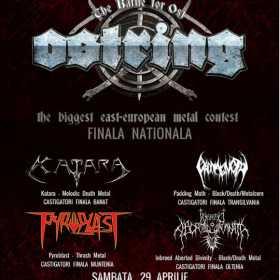 Finala Nationala OSTRING va avea loc in Hard Club din Cluj Napoca pe 29 aprilie