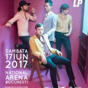 LP va deschide concertul Kings of Leon de la Bucuresti