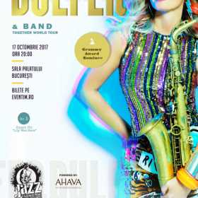 Jazz Syndicate Live Sessions va invita la concertul Candy Dulfer, in premiera la Bucuresti