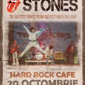 Trupa The Stones aduce hiturile lansate de Mick Jagger pe 20 octombrie la Hard Rock Cafe