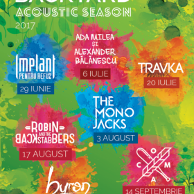 Concert Implant Pentru Refuz unplugged la Verde Stop in seria de concerte Backyard Acoustic Season