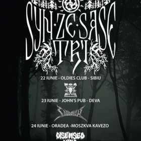 Syn Ze Sase Tri in concert la Sibiu, Deva si Oradea