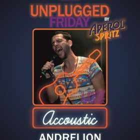 Unplugged Friday cu Andrei Ion pe terasa Hard Rock Cafe