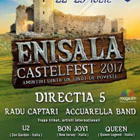 Doua zile de distractie estivala pe taramul cetatii dobrogene la Enisala Castelfest 2017
