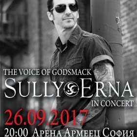 Sully Erna, vocea trupei Godsmack, va concerta la Arena Armeec din Sofia