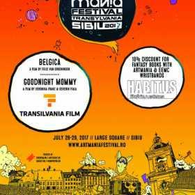 Transilvania Film vine la ARTmania cu filme premiate international! Iar Libraria Habitus le asorteaza cu carti bune!