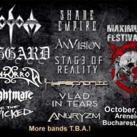 Trupe noi confirmate la Maximum Rock Festival 2017: Haggard, Anvision si Hypersonic
