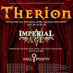 Concert Therion la Bucuresti - informatii si bilete