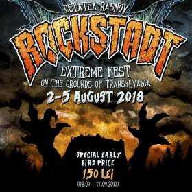 Rockstadt Extreme Fest 2018 va avea loc in perioada 2-5 August 2018