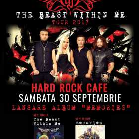 "Trupa Scarlet Aura lanseaza albumul ""Memories"" la Hard Rock Cafe"