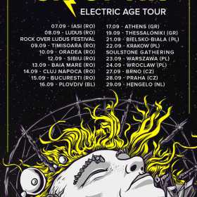 Trupa Sinoptik concerteaza in Romania in cadrul turneului The Electric Age din luna septembrie