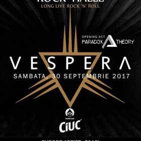 Trupa Vespera concerteaza in Rock Halle din Constanta