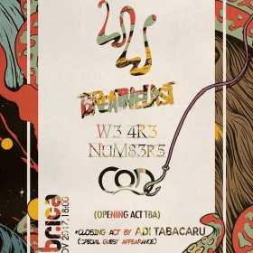 Concert White Walls, Breathelast, W3 4R3 NUM83R5, COD si Adi Tabacaru in club Fabrica
